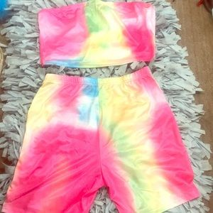 Other - Cute Colorful Two Piece Great for Summer!
